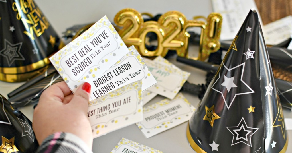 free printable new years game