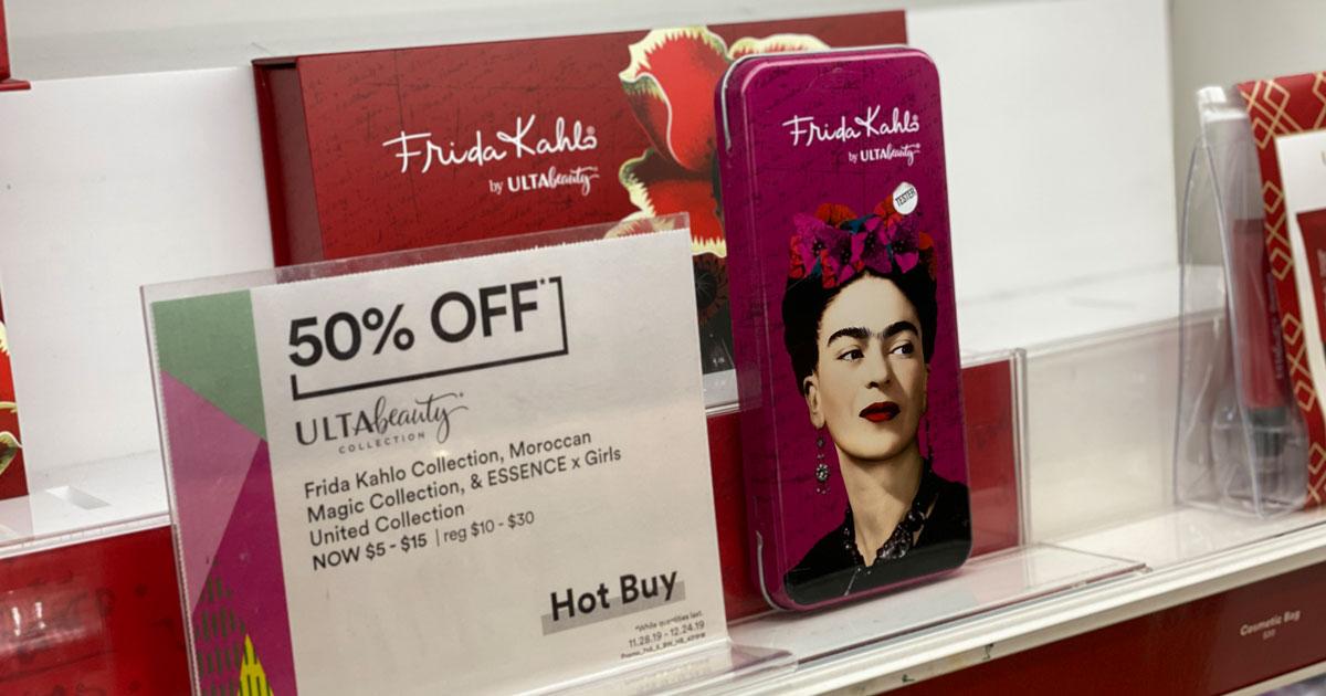 Ulta Gift Sets Frida Kahlo makeup kit with 50% savings