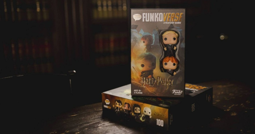 funkoverse harry potter board game sitting on table