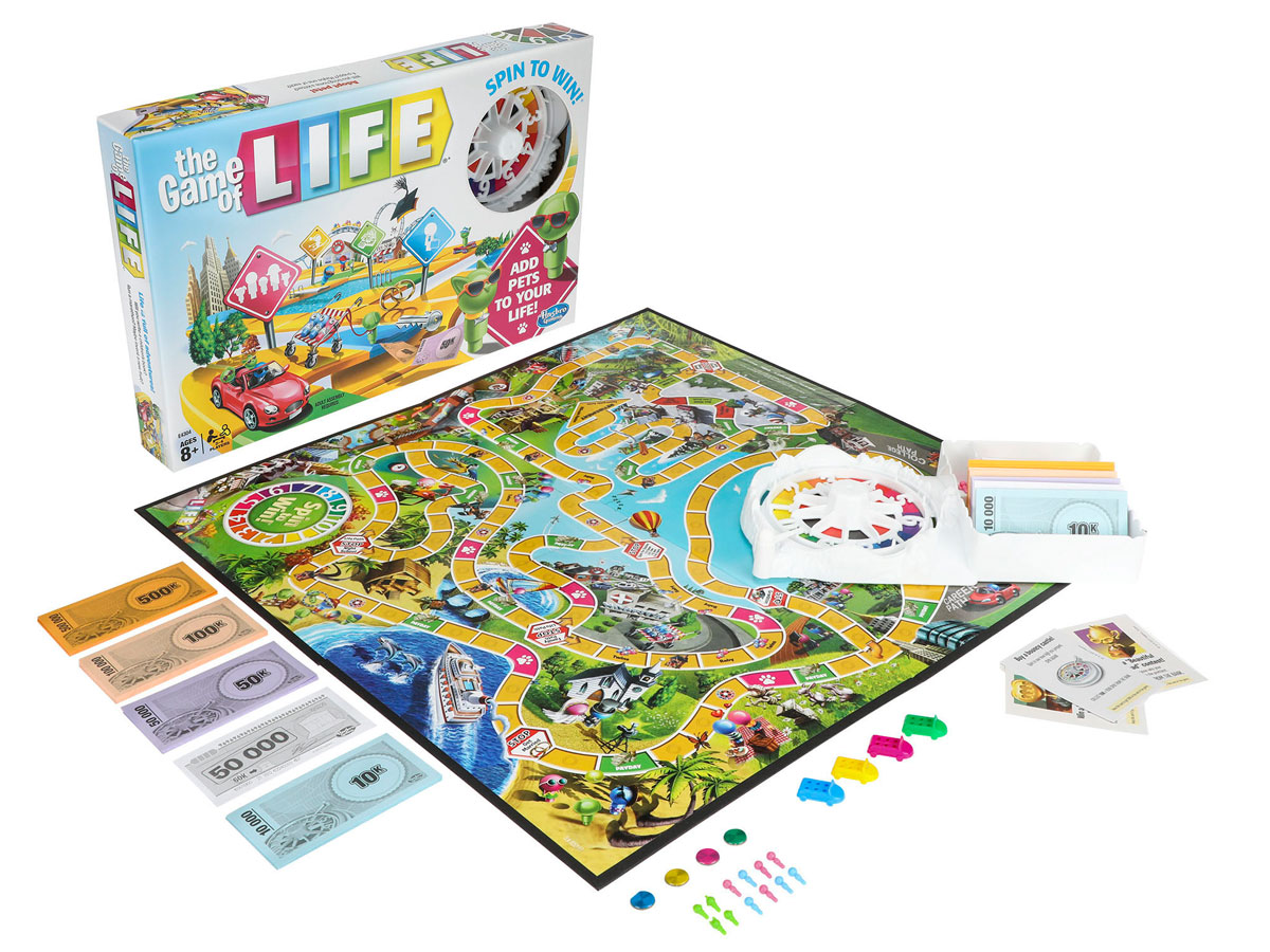 the game of life stock image