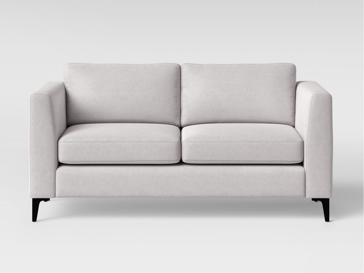 """stock image of Project 62 Medway Sofa 71"""" with Metal Legs Light Gray"""