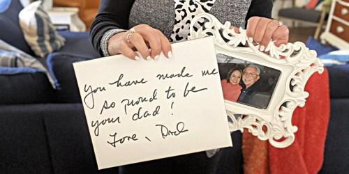 Preserve a Handwritten Note into a Photo Canvas