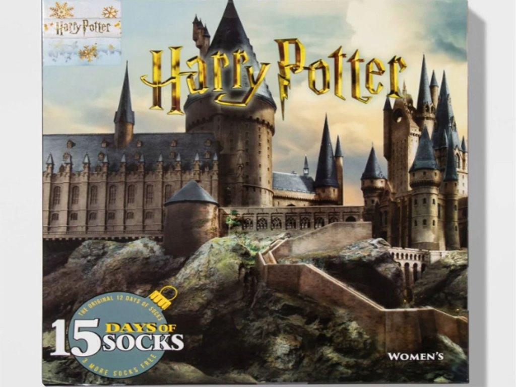 Women's Harry Potter Castle 15 Days of Socks Advent Calendar