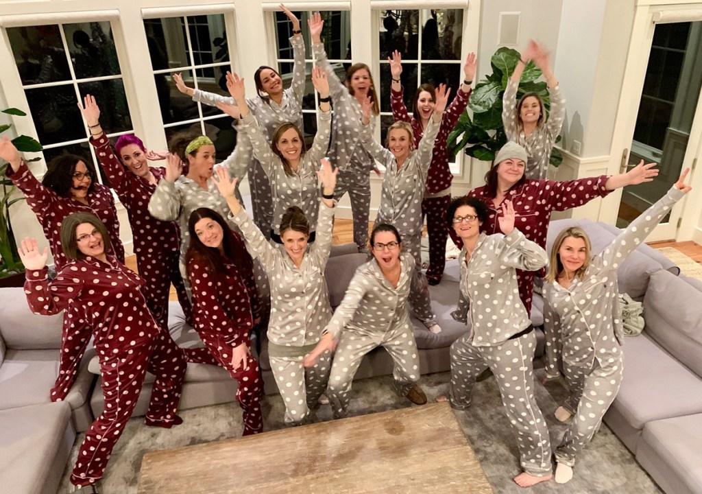 women in pajamas