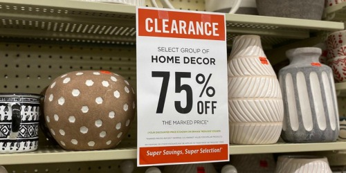 Score a Whopping 75% Off Home Decor at Hobby Lobby