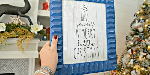 Use These FREE Farmhouse Christmas Printables as Home Decor and More!