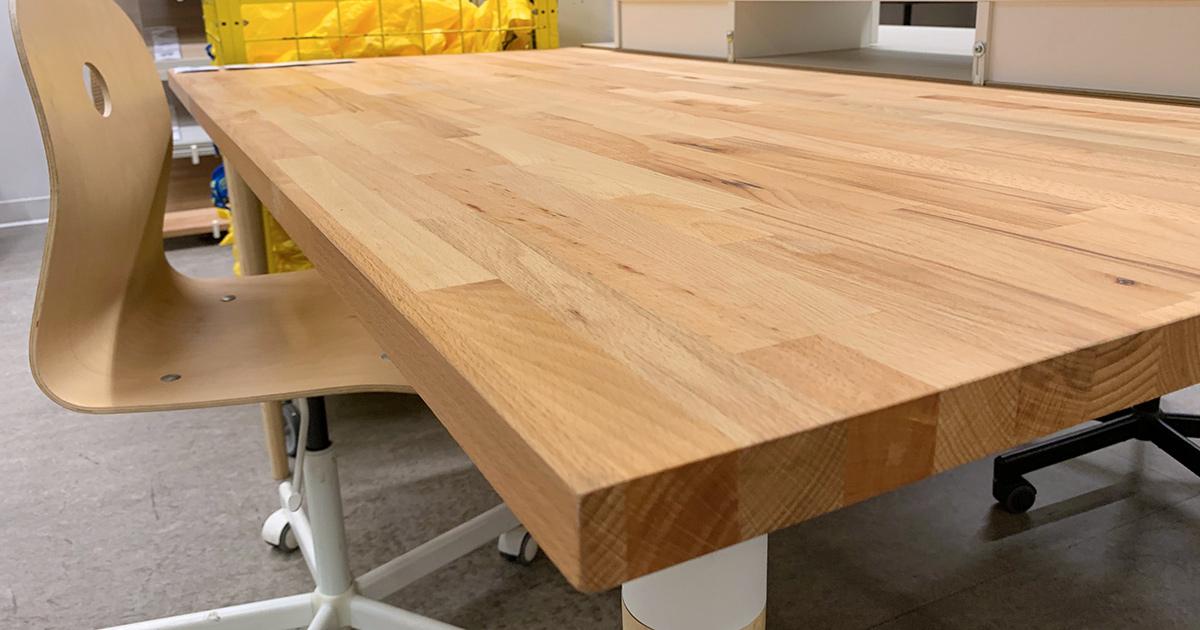 Best Ikea Table Top Options To, Beech Desk Ikea