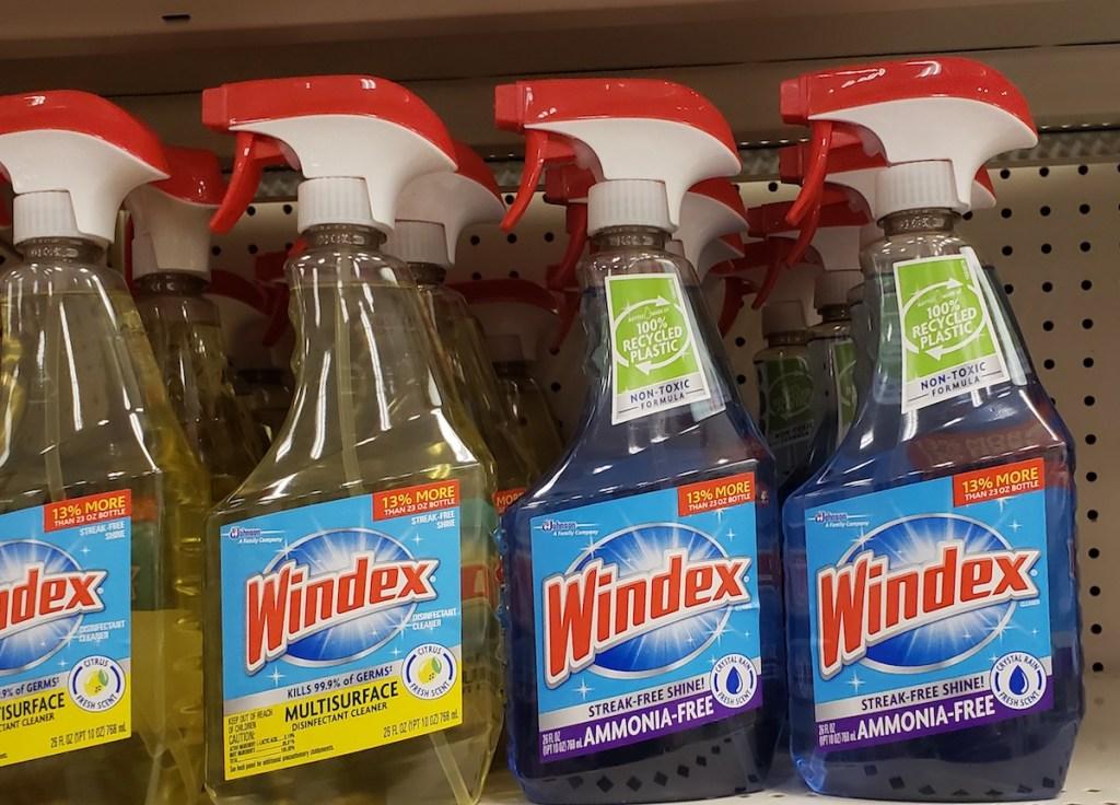 Windex Ammonia-Free on shelf at store