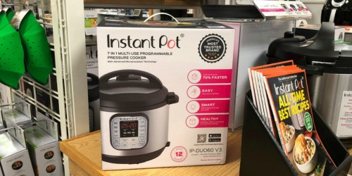 Instant Pot 8-Quart Pressure Cooker Only $71.99 Shipped + Get $10 Kohl's Cash