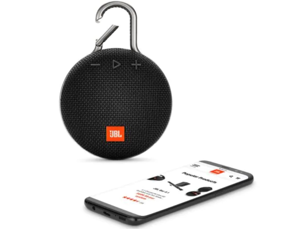 jbl clip with phone