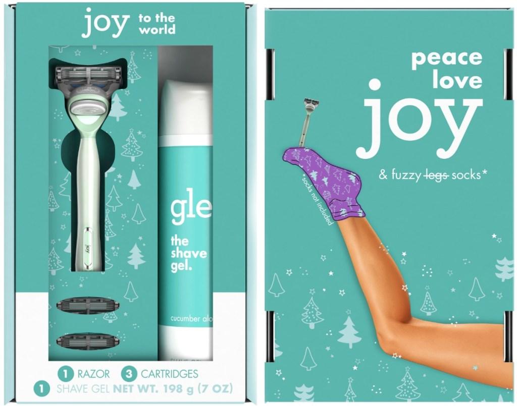 joy brand razor gift set