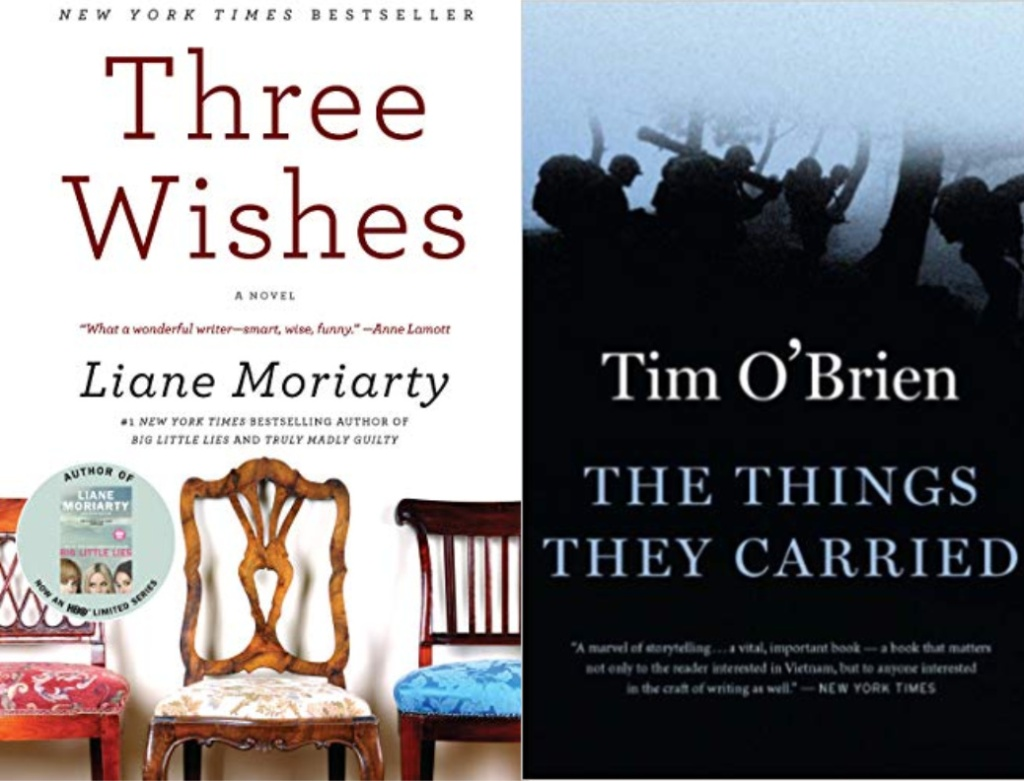 three wishes, the things they carried book covers