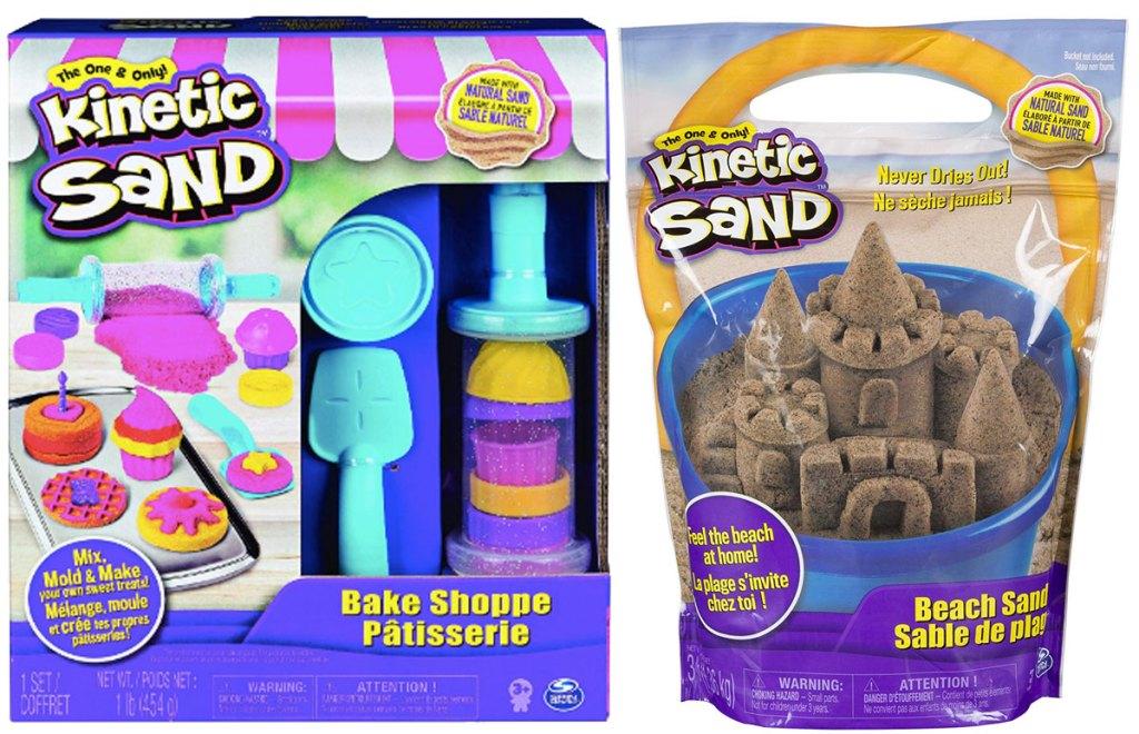 kinetic sand bake shoppe and beach sand