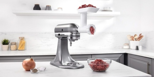 KitchenAid Artisan Stand Mixer w/ Food Grinder Attachment Only $239.99 Shipped (Regularly $539)
