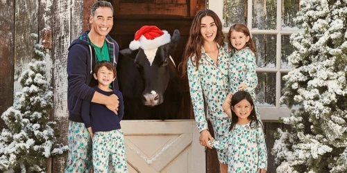 50% Off Matching Family Pajamas, Jackets & More + Free Shipping at Lands' End
