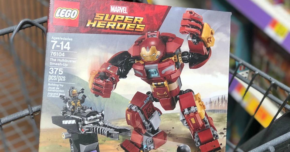 LEGO Super Heroes 76104 The Hulkbuster Smash-Up Age 7-14 375pcs