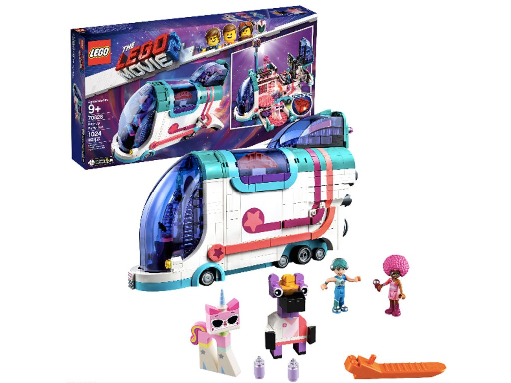 stock image of LEGO Movie 2 Pop-Up Party Bus