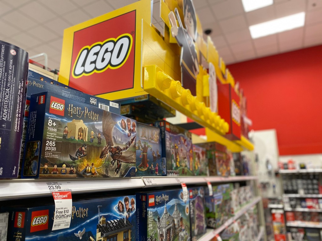 lego sets at target in store