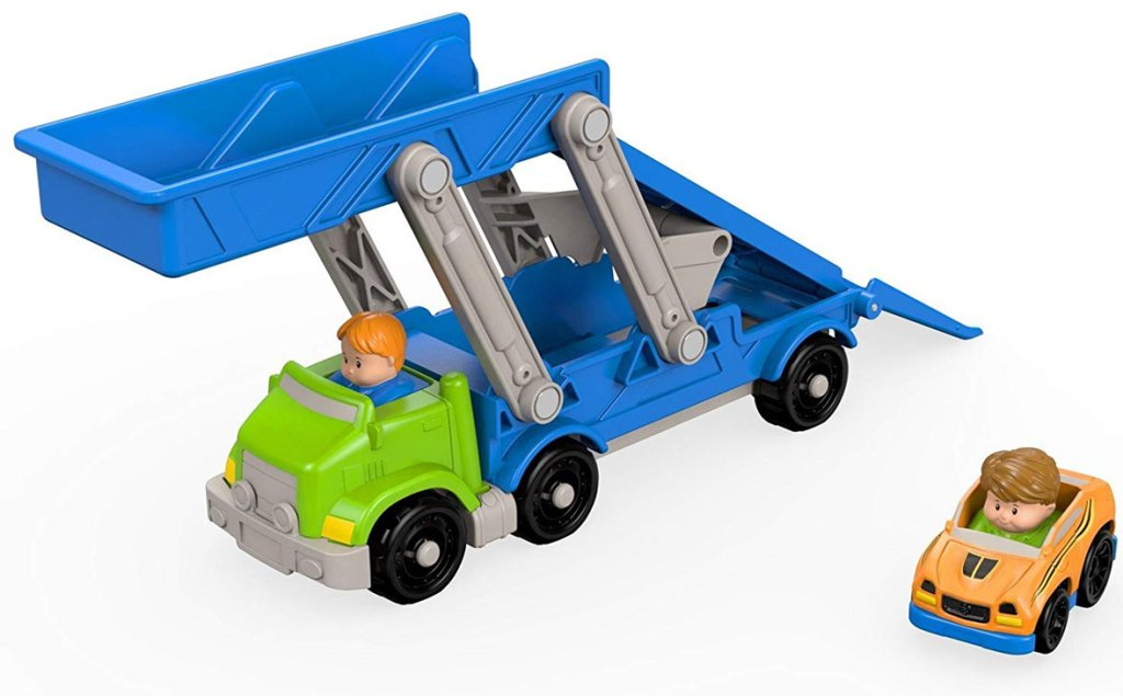 stock image of Fisher Price Little People Ramp 'N Go Carrier