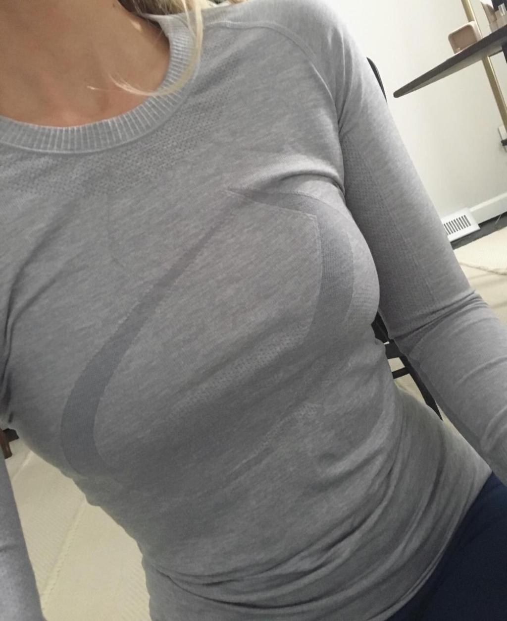 Lululemon knockoff long sleeve shirt
