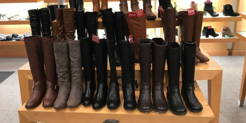 Buy One, Get One FREE Women's Boots at Macy's + Free Shipping on $25+