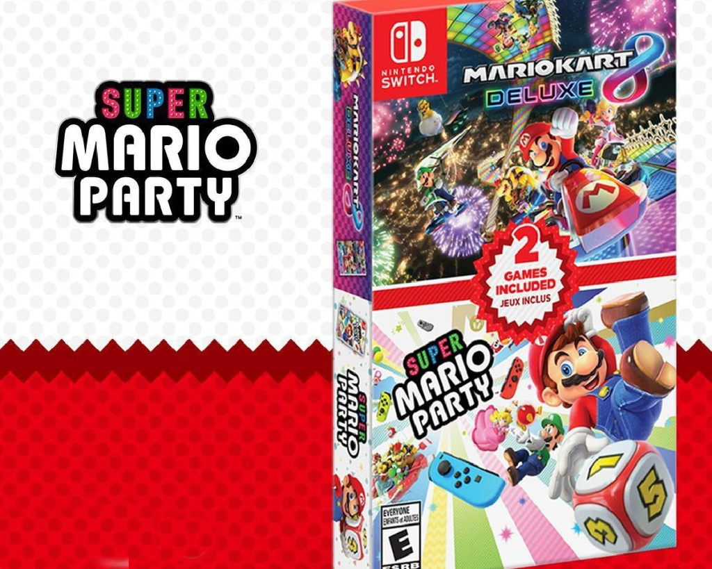 mario party 8 deluxe dual pack video game