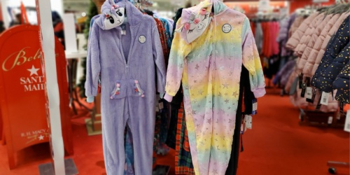 Max & Olivia Kids Hooded Pajamas Only $14.99 at Macy's (Regularly $42)