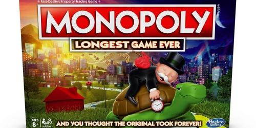 Clear Your Calendar for a New Version of Monopoly – The Longest Game Ever!