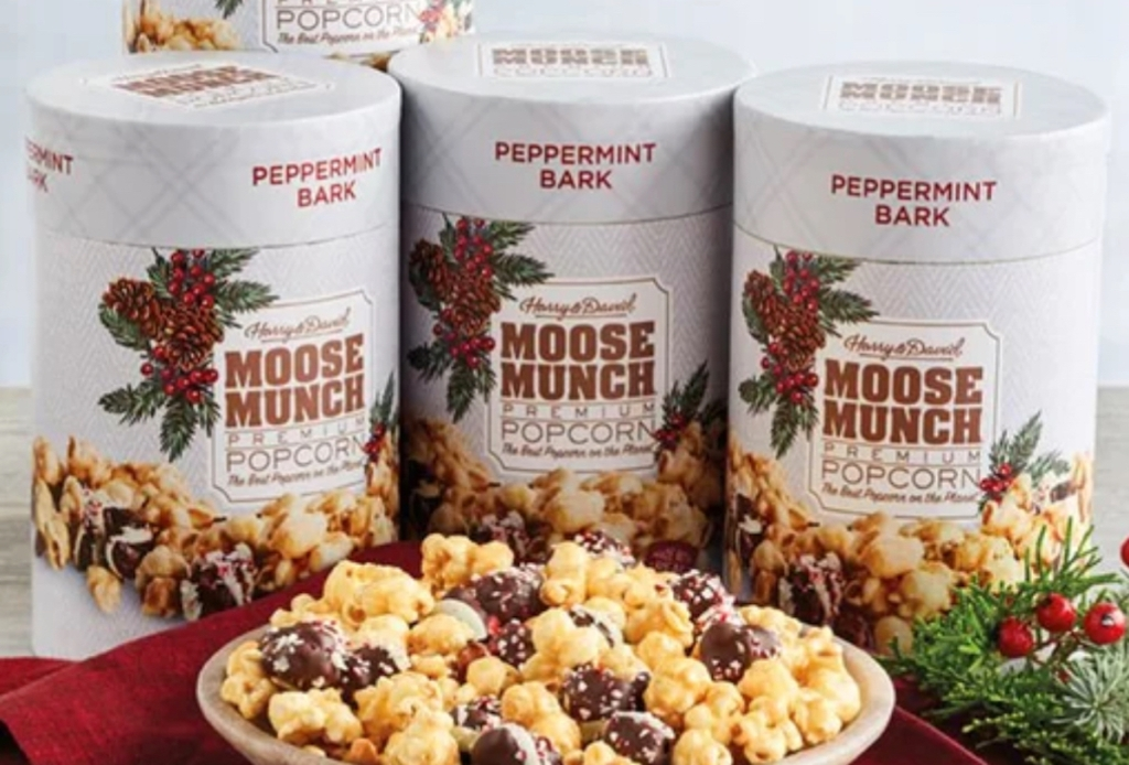 canisters of harry and david moose munch