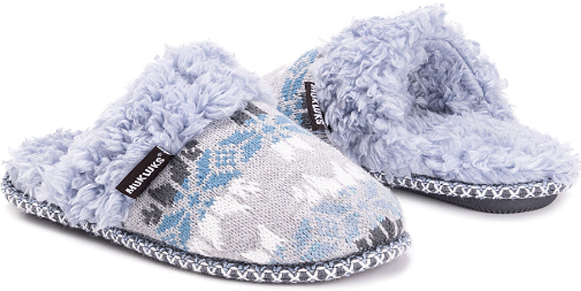 Muk Luks Alice Blue Frida Slipper