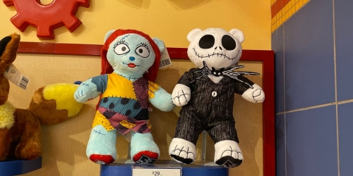 The Nightmare Before Christmas Is Back in Stock at Build-A-Bear Workshop
