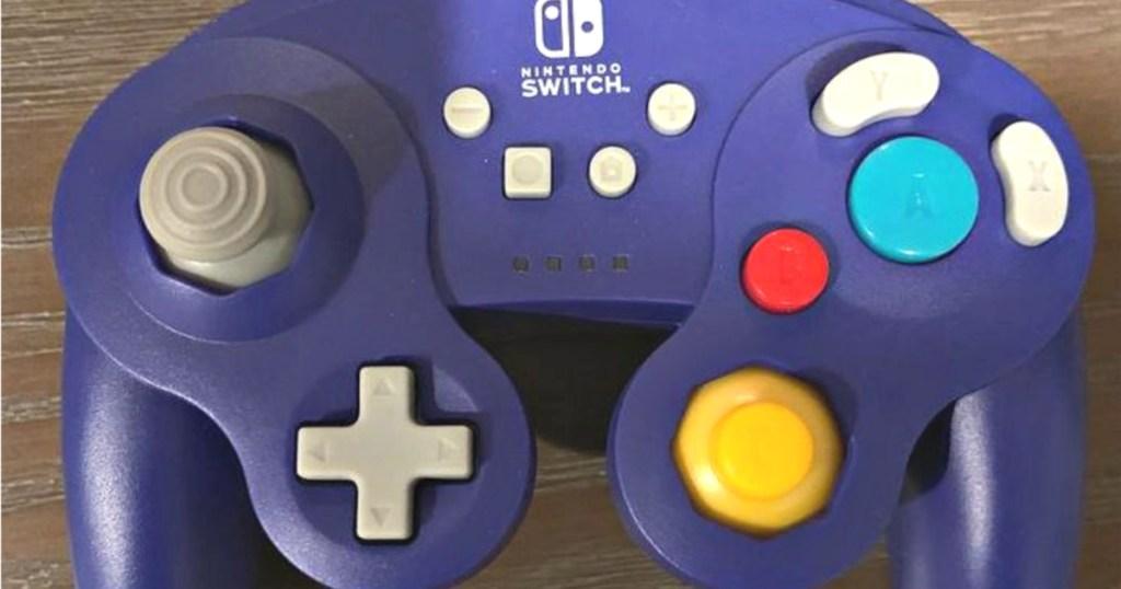 purple nintendo switch controller