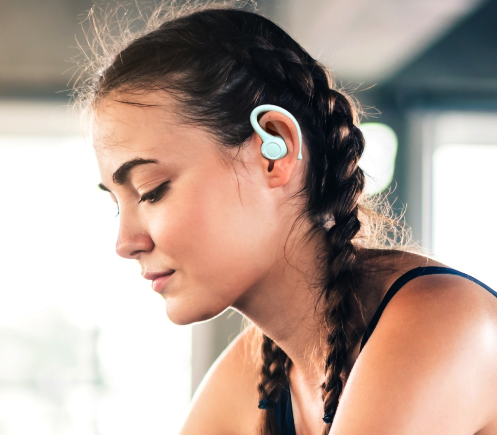 onn. bluetooth athletic earbuds