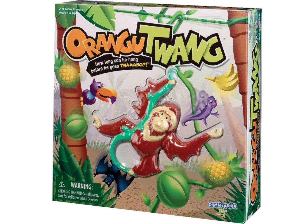 stock image of Organgutwang game