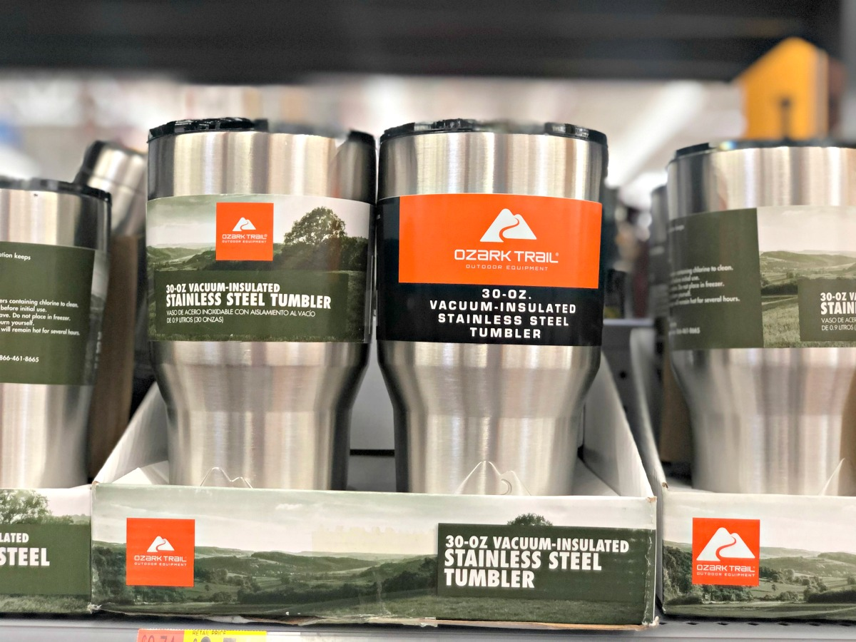 ozark trail stainless cup