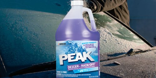 Peak Rain-Off Windshield Cleaner/De-Icer Only $1.49 at Ace Hardware