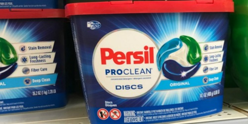 Persil ProClean 186-Count Laundry Discs Only $43.91 Shipped on Amazon