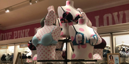 Victoria's Secret Semi-Annual Sale | PINK Panties $2.99 & Bras as Low as $9.99