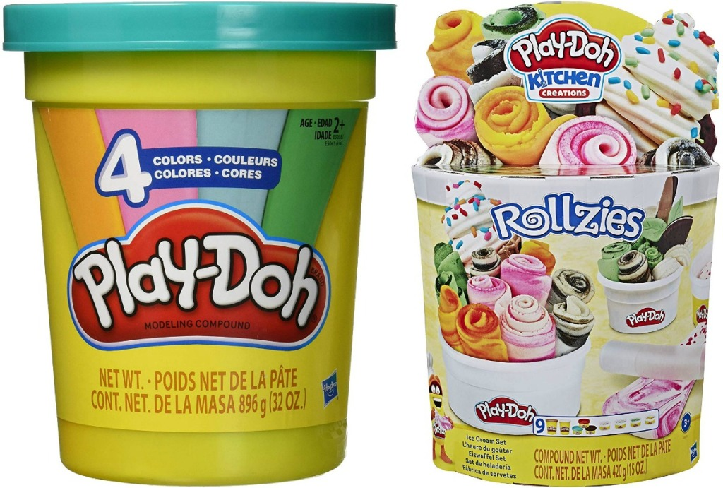 Two Play-Doh playsets