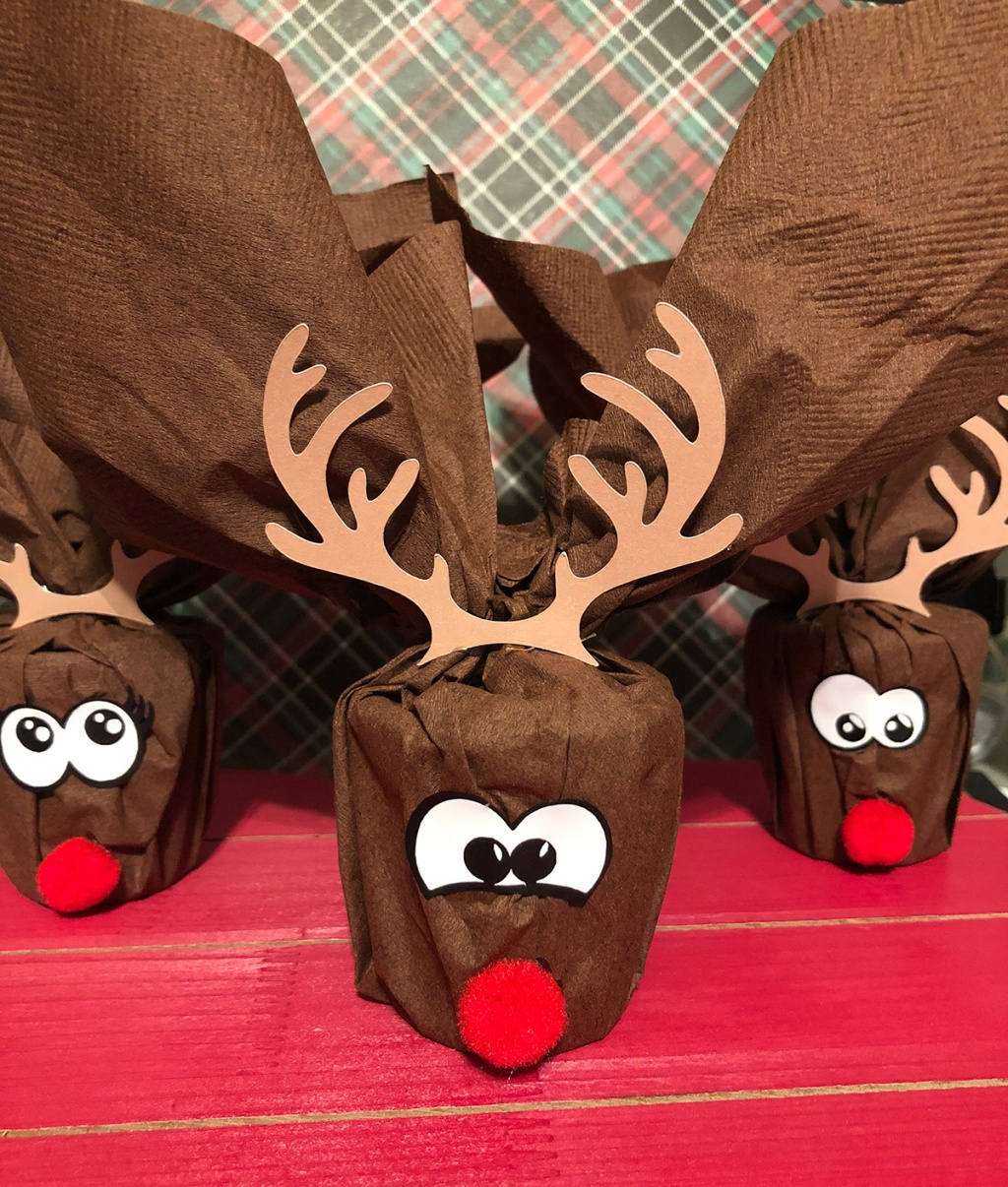 Reindeer Playdough gift