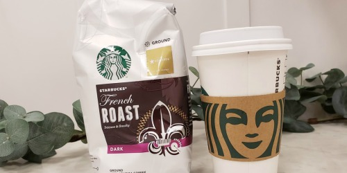 Starbucks Ground Coffee 28 Oz Bag Only $9 or Less Shipped on Amazon