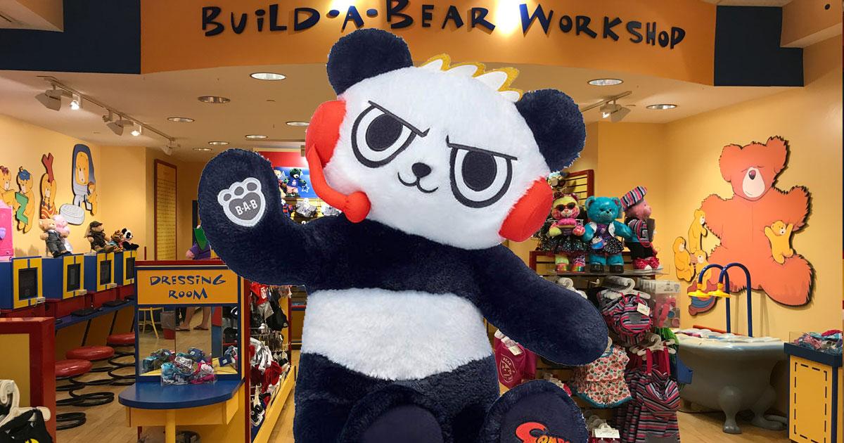 Ryan's World Combo Panda Plush at Build-A-Bear
