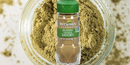 McCormick Gourmet All Natural Ground Savory Spice Only $2.44 Shipped at Amazon