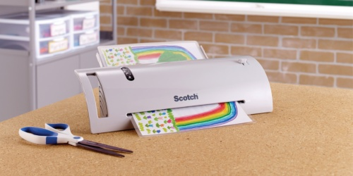 Scotch Thermal Laminator + 52 Letter Size Sheet Pouches Just $17.49 at Walmart (Regularly $35) + More