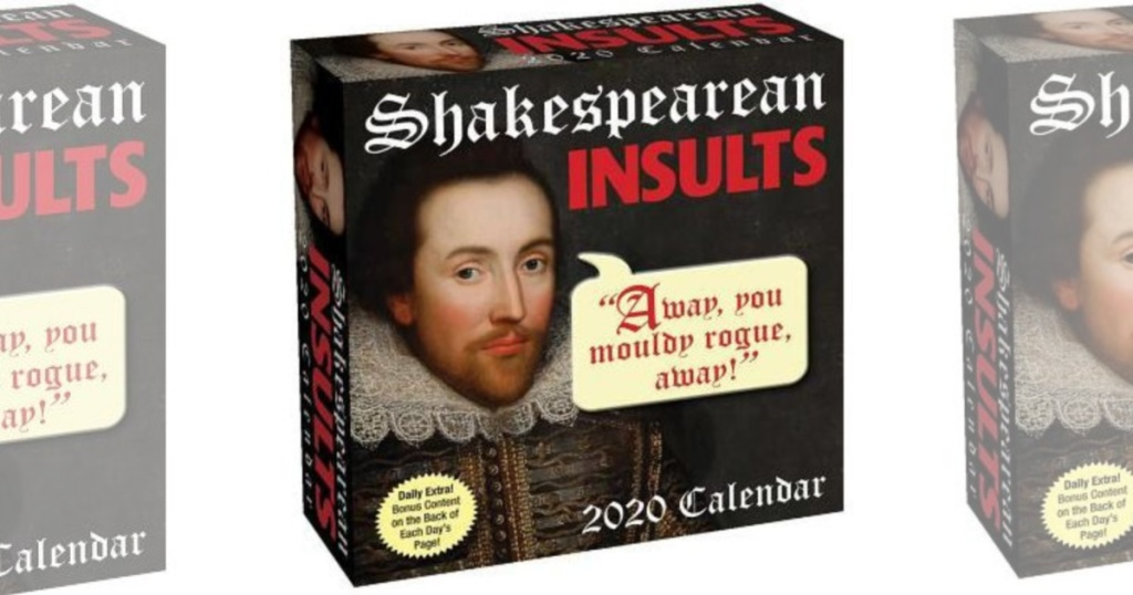 Shakespearean insults box