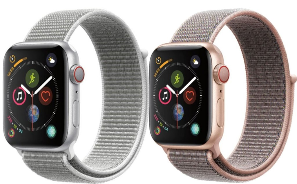 Apple Watch Series 4 GPS + Cellular 40mm - Pink and gray