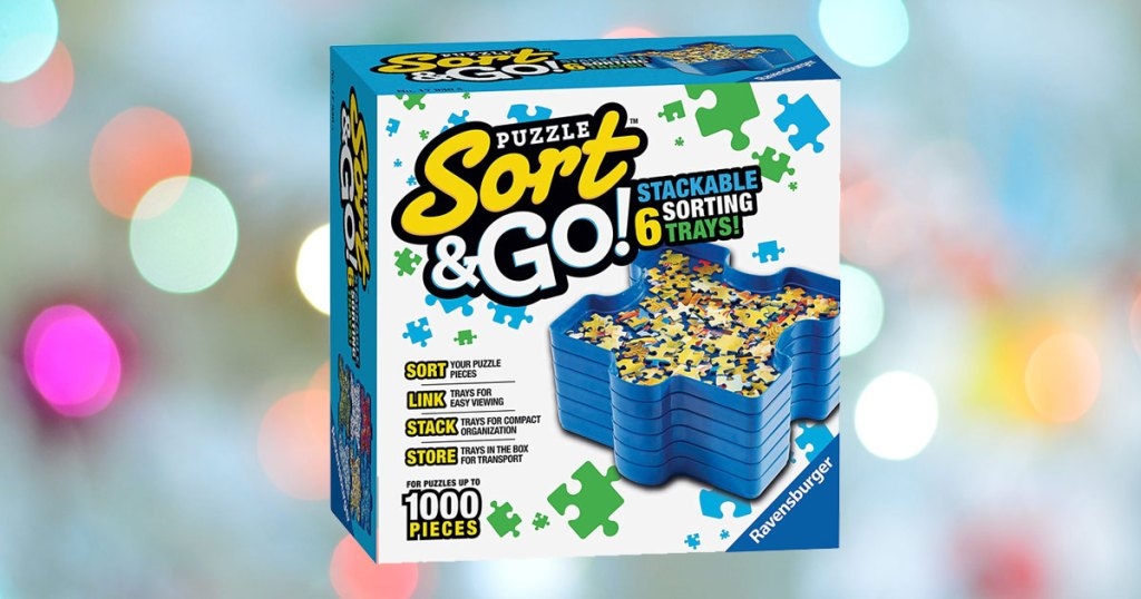 Ravensburger Sort and Go Jigsaw Puzzle Accessory