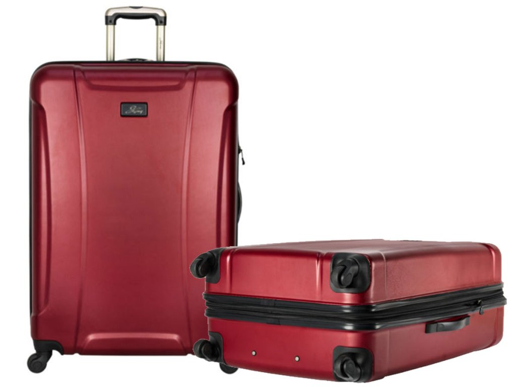 "Skyway Chesapeake 2.0 28"" Hardside Spinner Luggage stock image in red"