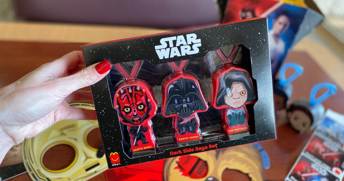 2019 McDonalds STAR WARS RISE OF SKYWALKER Happy Meal Boxes SET OF 4 No Toys