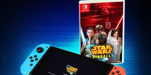 Star Wars Pinball Nintendo Switch Game Only $13 (Regularly $20)
